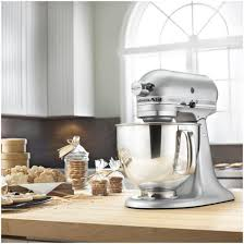 Kitchen Aid Mixer Sale by Kitchenaid Artisan Stand Mixer Silver Metallic 5 Quart