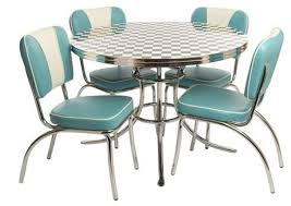 50 s diner table and chairs 50 s dining table 3 set id 2 creative retro nadidecor com