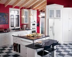 Best 25 Off White Kitchens Ideas On Pinterest Off White Unusual Off White Kitchen Cabinets With Red Walls Homey Best 25