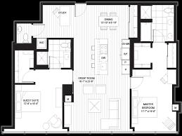 Floor Plans Chicago Two Bedroom Floor Plans Optima Chicago Center