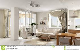 interior of modern luxury apartment royalty free stock photo
