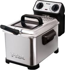 t fal fr4049 family pro 3 liter deep fryer with stainless steel