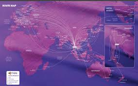 South African Airways Route Map by Why Fly Thai U2013 Backpackerlee