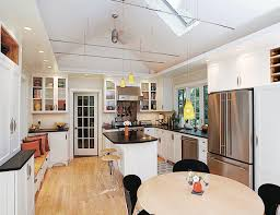 kitchen with vaulted ceilings ideas staying put by duo dickinson traditional kitchen other by