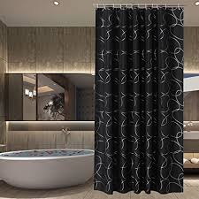 Shower Curtain Amazon Amazon Com Sfoothome Polyester Fabric Shower Curtain Waterproof