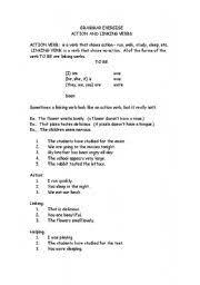 english teaching worksheets linking verbs