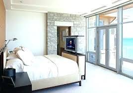 chambre avec meuble blanc murs dans la chambre a coucher en gris poussiare et meubles blancs