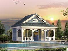 Backyard Guest House Plans by Farmhouse Pool House Guest Cottage Ojai Farmhouse Pinterest