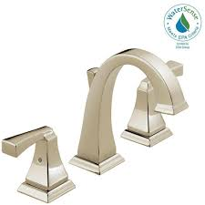 Outdoor Faucet Extender Home Depot Best Faucets Decoration Delta Dryden 8 In Widespread 2 Handle High Arc Bathroom Faucet