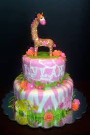 jungle jill baby shower cake cakecentral com