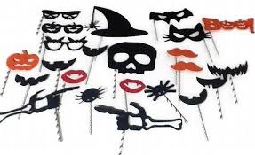 Halloween Photo Booth Props Halloween Photo Booth Props 24 Pc Set By Photopropattic On Zibbet