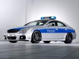 2006 brabus rocket police car based on mercedes benz cls front