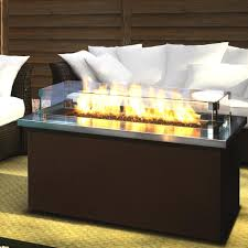 Patio Furniture With Gas Fire Pit by Firegear Key West 48 Inch Natural Gas Fire Pit Coffee Table With