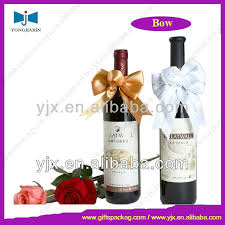 wine bottle bows bottle neck bows wine bottle bow tie decoration ribbon bow bottle