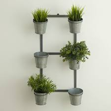 galvanized wall planter reminds me of joanna gaines u0027 herb rack