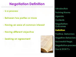 Seeking Negotiation Designed Prepared Provided By Itda Negotiation Skills
