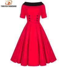online get cheap red skater dress aliexpress com alibaba group