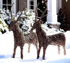 reindeer yard decorations best celebration day