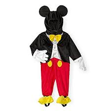 Baby Halloween Costumes 3 6 Months Amazon Disney Baby Toddler Boys Mickey Mouse Dress