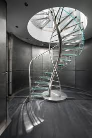 dna floating helical stairs glass twe 707 glass stairs from