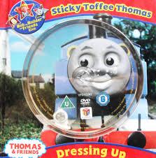 sticky toffee thomas book dvd thomas tank engine wikia