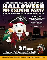 woof in boots 5th annual howlin u0027 halloween pet costume party