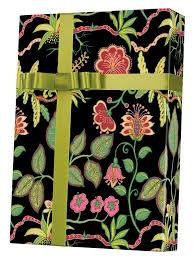 botanical wrapping paper silk botanical gift wrap innisbrook wrapping paper