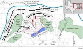 Kilgore Texas Map The East Texas Basin Activity Update