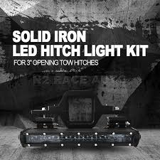 n2 tow hitch mount high power led pod backup reverse lights rear