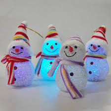 Lighted Snowman Outdoor Decoration by Led Christmas Snowman Decoration U2013 Decoration Image Idea