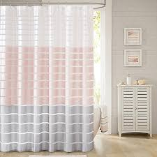 Shower Curtains Bed Bath And Beyond Demi Shower Curtain In Blush Bed Bath U0026 Beyond