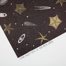 space wrapping paper outer space wrapping paper with gold metallic gift wrap