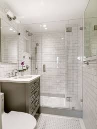 Grey And White Bathroom Tile Ideas Great White Subway Tile Bathroom Ideas Houzz Inside White Subway