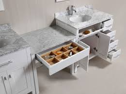 single sink vanity with drawers two 36 london single sink vanity set in white with drawers on the