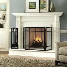 modern fireplace screens glass design ideas toronto contemporary
