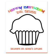 happy birthday to you dr seuss coloring page periodic tables