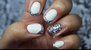 tips of nail artofnailsart black french tip nails with designs