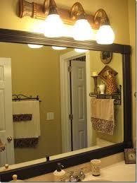 Framing A Bathroom Mirror How To Frame Impressive Framing A Bathroom Mirror Bathrooms