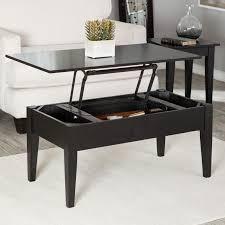 Turner Lift Top Coffee Table Black Hayneedle