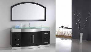 Double Vanity Cabinet Bathroom Attractive Small Bathroom Plan Black Accent Wall With