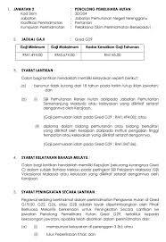 Resume Sample Untuk Kerja Kerajaan by Jawatan Kosong Kekosongan Dalam Sektor Kerajaan Negeri