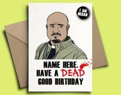 birthday card the walking dead daryl by inlivingcolorstudios