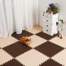 tappeti ad incastro 10 pz bambini sviluppo morbido strisciando tappeto bambino beige