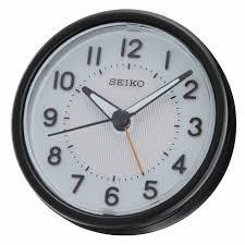 seiko qhe087klh light alarm clock now at the clock depot