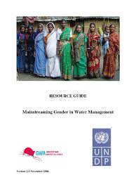 gender and iwrm resource guide complete 200610 water resources