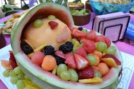 cute fruit salad for baby shower great side dish to babyq bbq