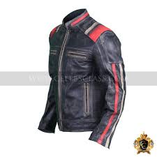 retro motorcycle jacket men u0027s vintage motorcycle cafe racer biker retro black distressed