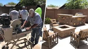 Backyards Family Dealing With Cancer Gets Surprise Backyard Makeover Today Com