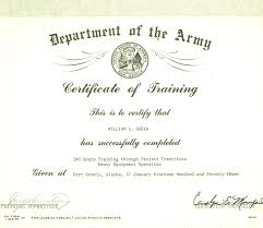 best solutions of army certificate of appreciation template ppt