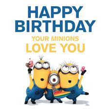 minion birthday card lilbibby com